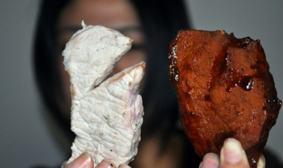Additivo trasforma maiale in manzo!