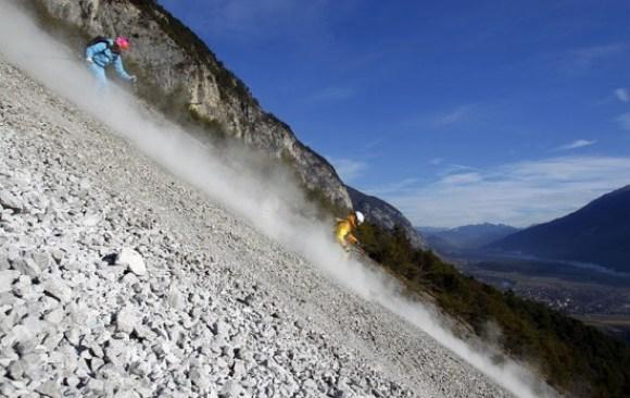 Sci sulle rocce in Austria (2)