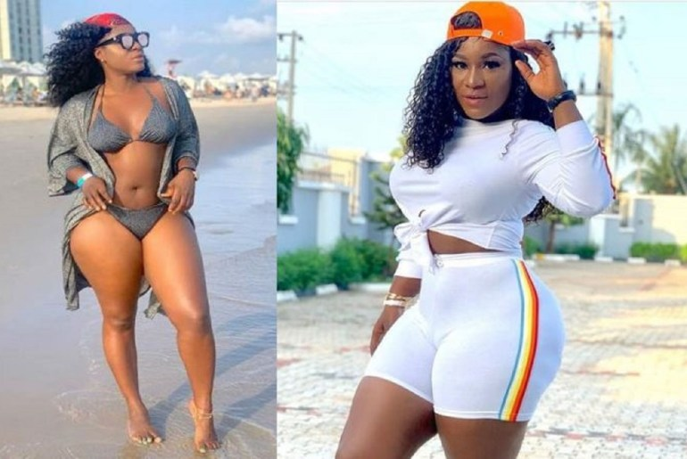 """""""Please Call Me Ujunwa"""" - Destiny Etiko Says As She Displays Her Curves In S3kzy Tight Jeans"""