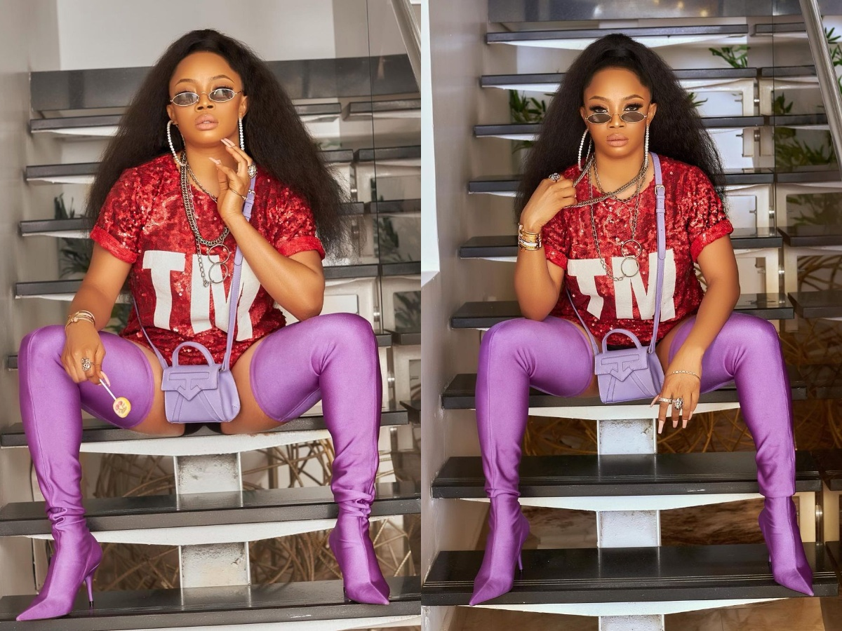 Toke Makinwa Gives Scary Updates On How She Feels After Taking COVID-19 Jab