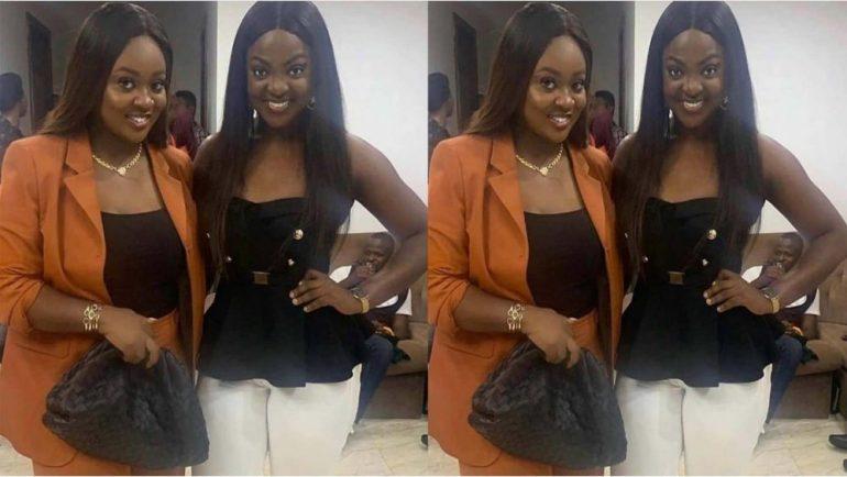 Jackie Appiah and her look alike