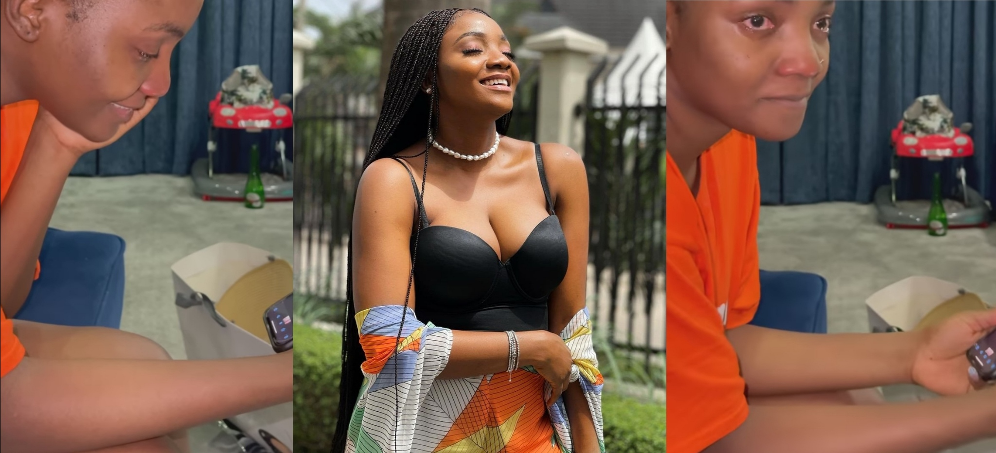 Simi Breaks Down In Tears As Fans Send Her Lovely Messages As She Celebrates Her Birthday (Video)