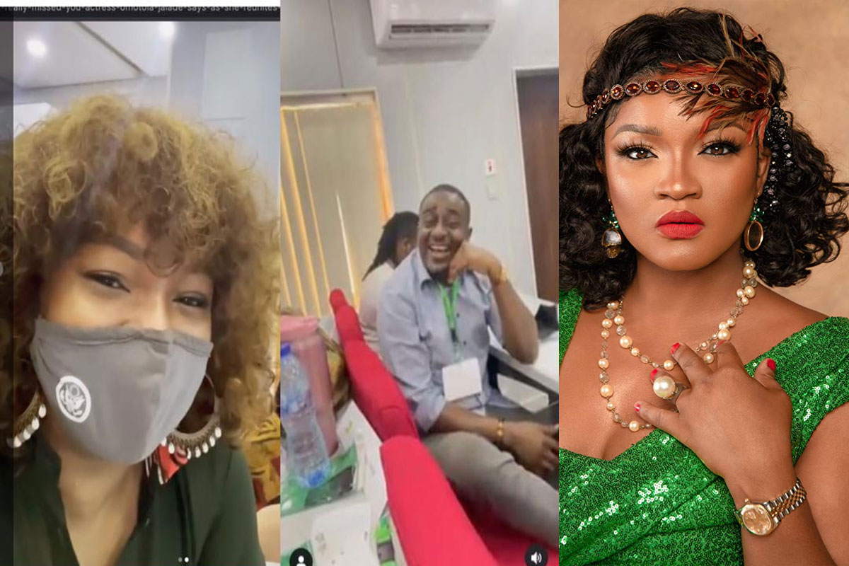 """""""I've Really Missed You"""" - Actress Omotola Jalade Says As She Reunites With Emeka Ike After Years Apart"""