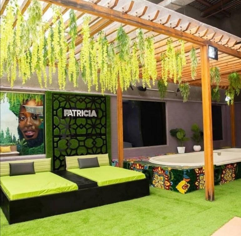Big Brother Naija house interior