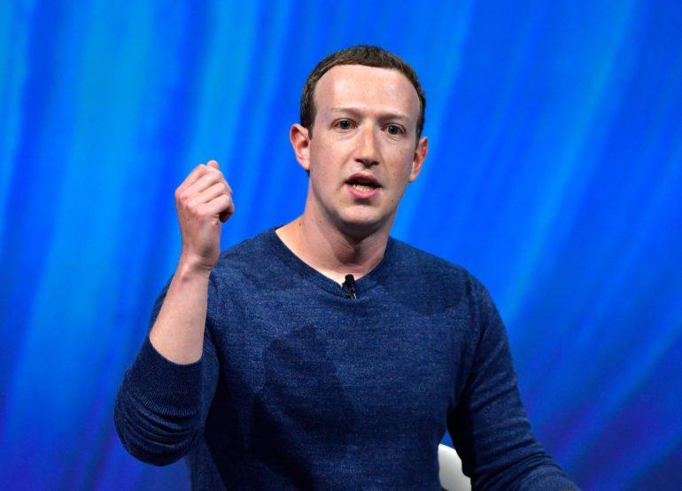 Mark Zuckerberg scaled