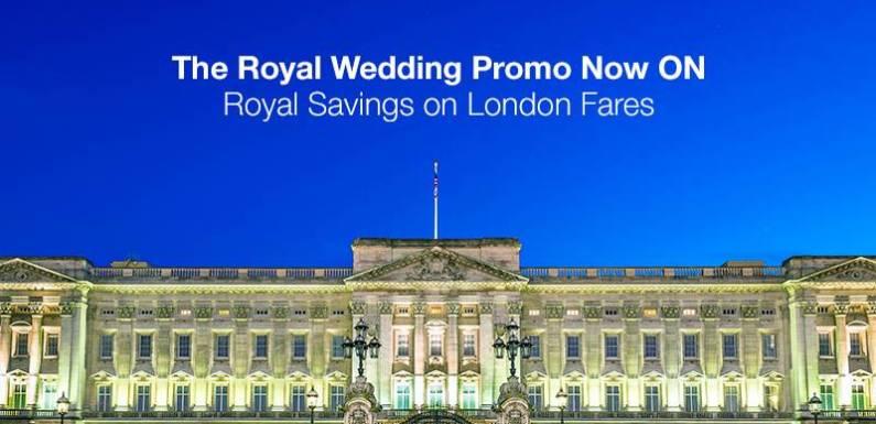 UK Royal Wedding: Book Cheap Flights From Lagos to London