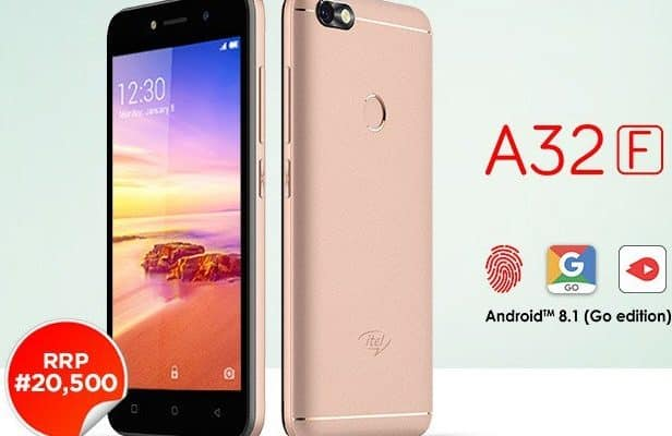 b7f23cb7e Itel A32F is Out With Android 8.1 Oreo Go Edition  See Specs and ...