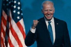 جو بايدن يفوز بالرئاسة Joe Biden wins the presidency