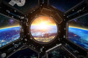 Living in space and transplanting liver organs