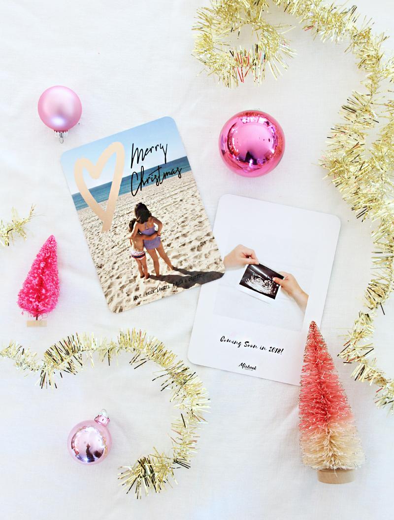 A Bubbly LifeDIY Christmas Card Holder - A Bubbly Life