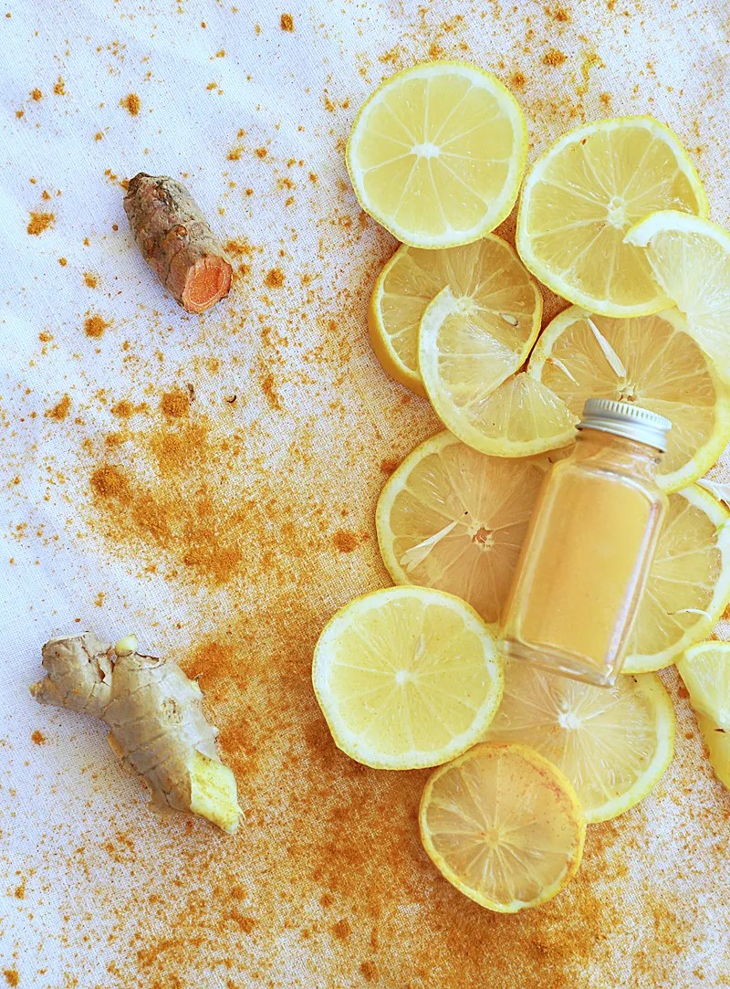 ginger turmeric shot
