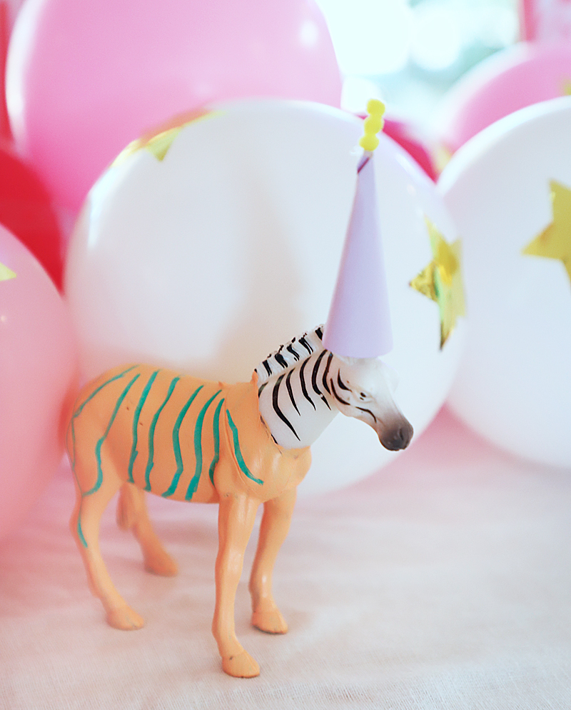 zebra party animal