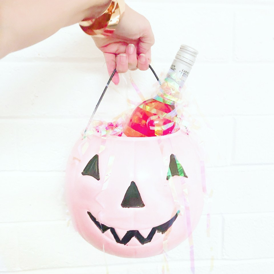 halloween champagne bucket
