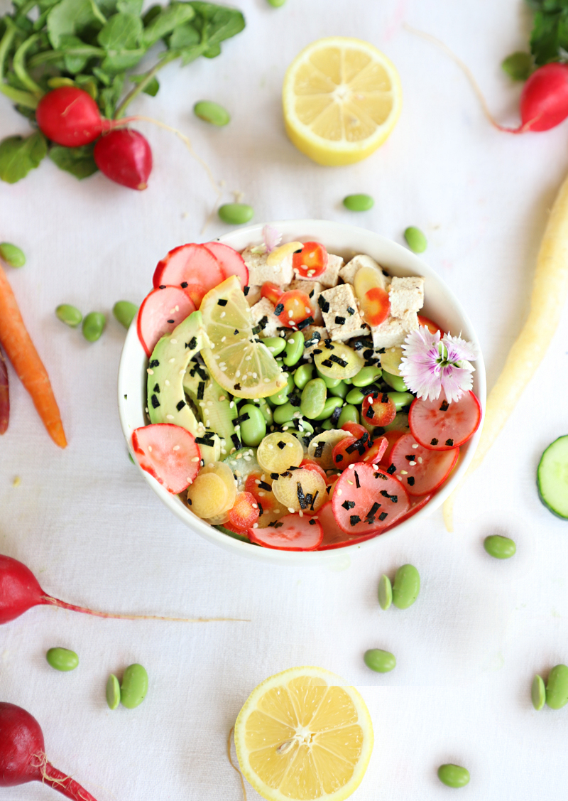 poke bowl vegan