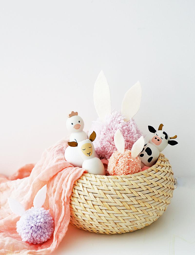 bunny pom poms