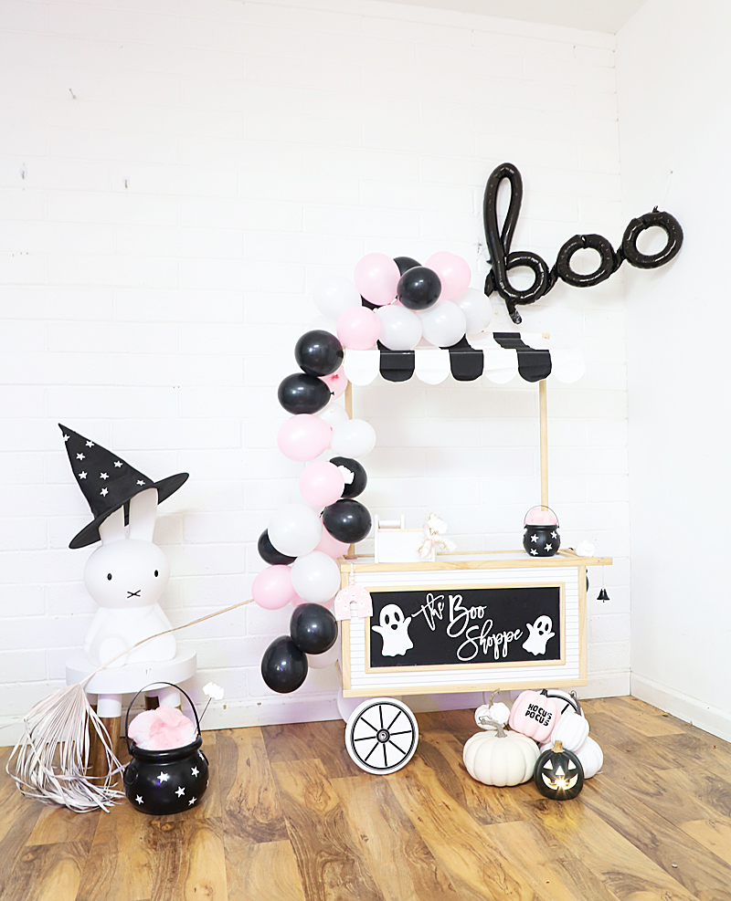 cute Halloween pink party