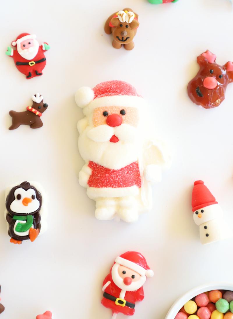 santa christmas marshmallow