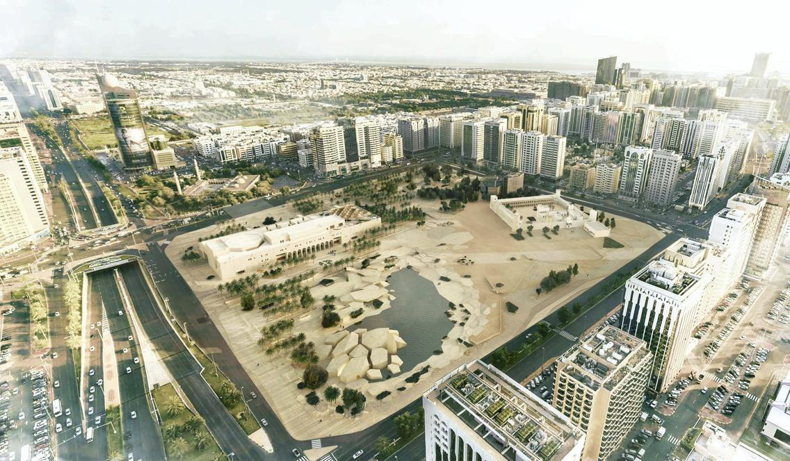 8. Rendering of Al Hosn site Abu Dhabi. Department of Culture and Tourism Abu Dhabi