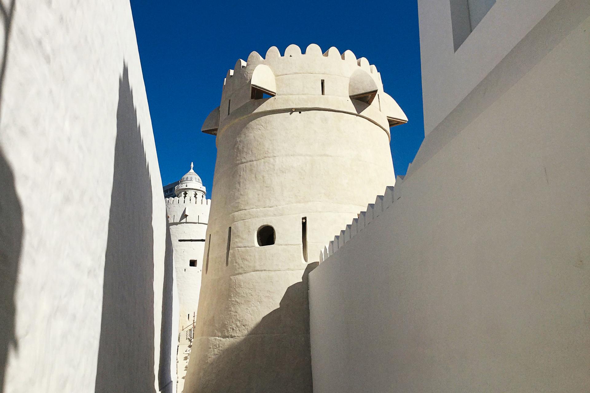The restored watchtower at Qasr Al Hosn © DCT Abu Dhabi 1