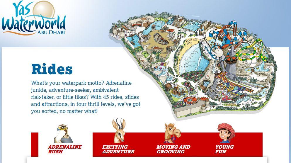 Yas Waterworld Abu Dhabi 2