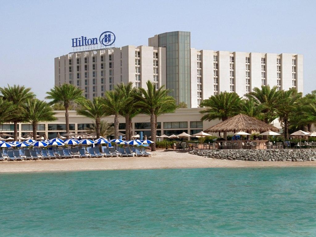 Hilton Abu Dhabi külső