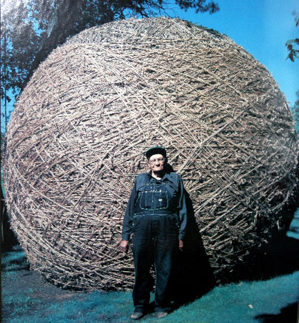 Francis A. Johnson and his Twine Ball