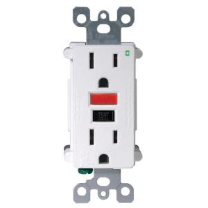 Ground fault circuit interrupter (GFCI) plugs are great, except when it's wet and dark and your system trips them!