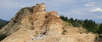 Crazy Horse Memorial (Work in progress).