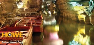 Tour boats 150 feet underground ...
