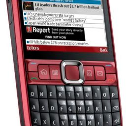 Nokia E63 retails for P14,200 in the Philippines