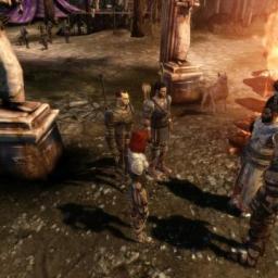 Dragon Age: Origins Screenshots on an NVIDIA GT230M