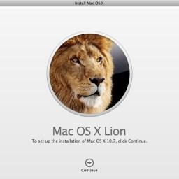 Installing OS X Lion
