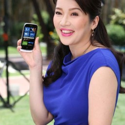 So Kris Aquino endorses Nokia Lumia