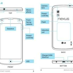 Google Nexus 4 boasts wireless charging and quad core processor by LG