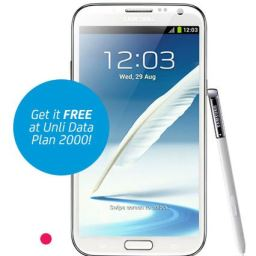 Preorder the Samsung Galaxy Note 2 with SMART; free at UNLI DATA Plan 2000