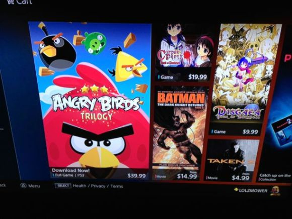 andgry birds ps3 expensive
