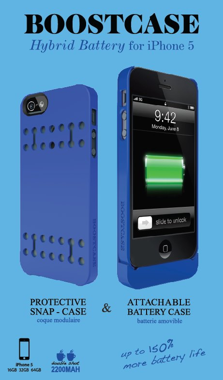 boostcase iphone 5