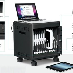 The MultiCharger-X iPad charging dock for schools is yours for PHP 39,999