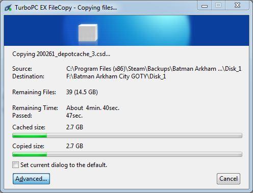 batman 20GB file