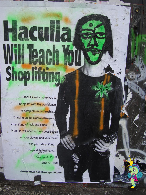 Haculla Will Teach You Shoplifting!