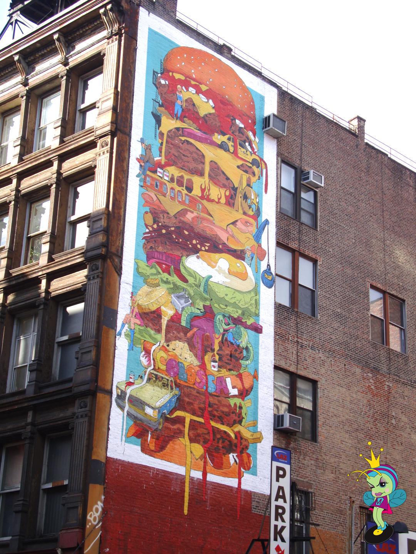 A Big Sloppy NY BUrger anyone?