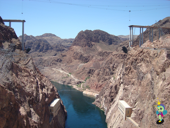 the Hoover Dam Bypass is scheduled to be complete in late 2010