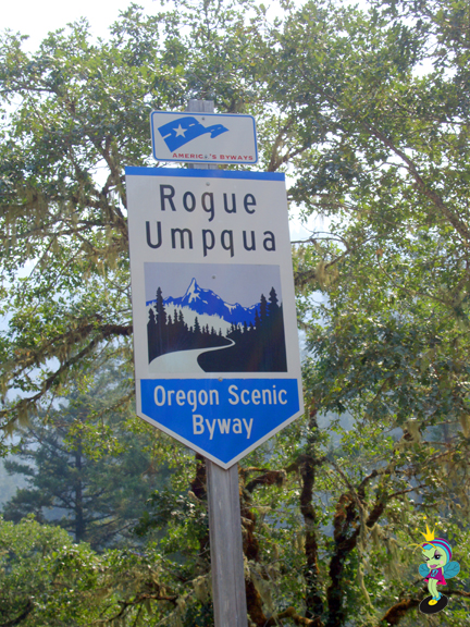 we took the Rogue Umpqua Oregon Scenic Byway to Crater Lake