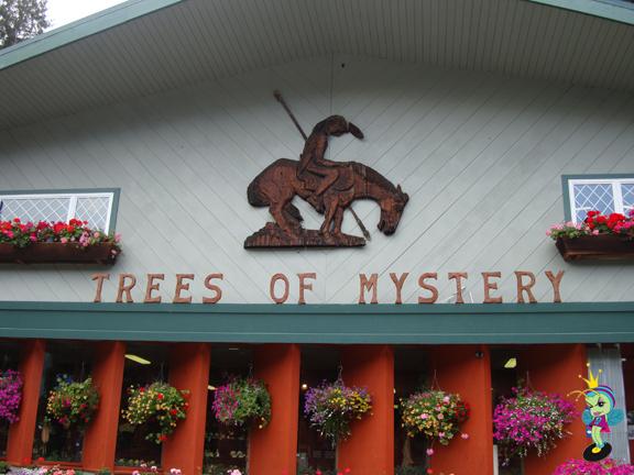 The Treeeeeeees of Mystery and a big crock of shit