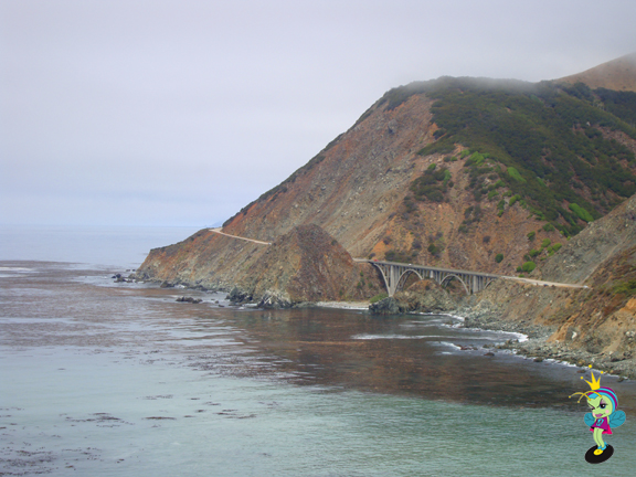 after Big Sur we stopped for lunch at Ragged Point, this was our view