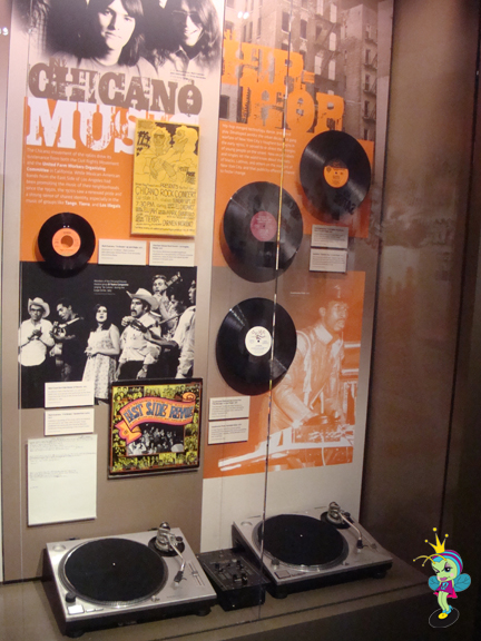 Hip Hop display in the Grammy Museum