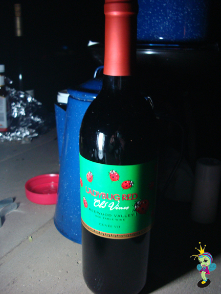 I found Ladybug Wine!!! Organically harvested and it was yummy