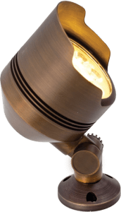 The flood light is the most used fixture in outdoor lighting installation.