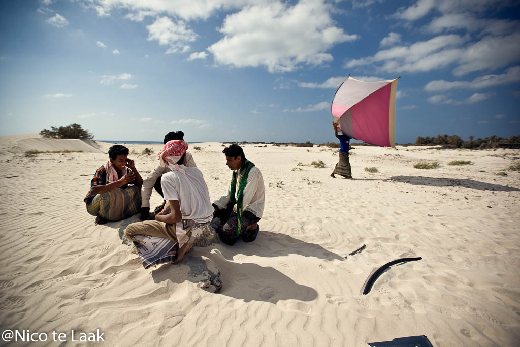 De ecotoerist op Socotra moet het doen met nul sterren