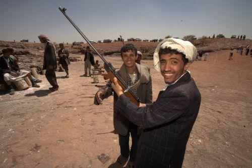 De gijzelfolklore in Jemen kruipt uit zijn onschuldige huid